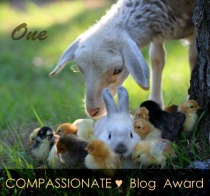 One Compassionate ♥ Blog Award