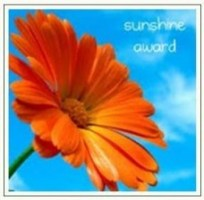 SUNSHINE award of appreciation